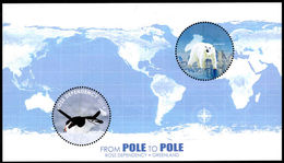 Ross Dependency 2014 Pole To Pole Souvenir Sheet Unmounted Mint. - Unused Stamps