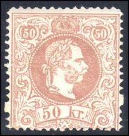 Austria 1867 50K Perf 12 Coarse Whiskers Fine Mint Original Gum Lightly Hinged - 1850-1918 Imperium