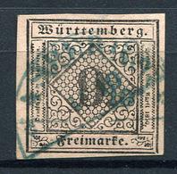 29021) WÜRTTEMBERG # 4 Gestempelt Aus 1851, 50.- € - Wuerttemberg