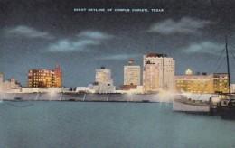 Texas Corpus Christi Skyline At Night - Corpus Christi