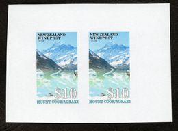 New Zealand Wine Post Corrected Proof Printing 'Aoraki' - New Zealand