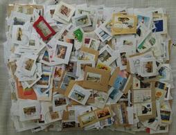 Allemagne (RFA): 4 Kilos De Timbres - Grands Formats Uniquement - Sur Fragments - Timbres