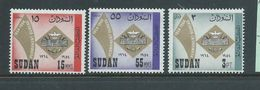 Sudan 1964 Arab Postal Union Set 3 MNH - Sudan (1954-...)