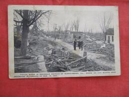 !925 Tornado   Destruction Murphysboro  Illinois     Ref 2904 - Etats-Unis