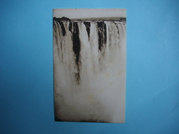 ZIMBABWE  -  Victoria Falls  -   Part Of Main Falls    -  Chutes Victoria  - Fleuve Zambèze  - - Zimbabwe