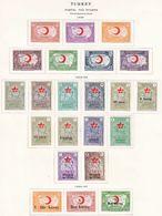 TURKEY  RA 1-22    * - Unused Stamps