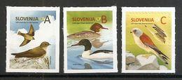 SLOVENIA 2016,NEW STAMPS 27.05, Animals ,birds,reprint 2016,,MNH - Birds