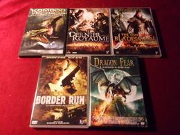 LOT DE 5 DVD   POUR 10 EUROS ( Lot  247 ) - DVDs