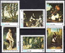 CUBA 1980, ART, PAINTINGS From The NATIONAL GALLERY, COMPLETE MNH SET, GOOD QUALITY, *** - Cuba