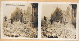 011 - GUERRE 1914-19180 - BELGIQUE - YSER 1916 NIEUPORT - Vieilles Halles - Nieuwpoort