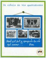 Le Siècle Au Fil Du Timbre N°6  - Chemise-dossier Avec Bloc-feuillet « Les Photos Des Français » - 2002 - Blocs & Feuillets