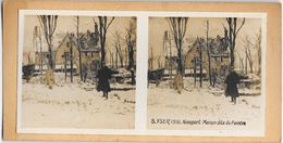 014 - GUERRE 1914-19180 - BELGIQUE - YSER 1916 NIEUPORT - Maison Dite Du Peintre - Nieuwpoort