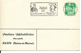 """ARLES Flamme Secap, Frédéric Mistral, Centenaire De """"Mireille"""" - Altri"""