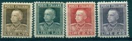 REGNO 1927 EFFIGE V.E III  MNH** LUSSO + CENTRATI - Neufs