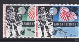 Samoa SG 330-331 1969 Moonlanding,used - Samoa