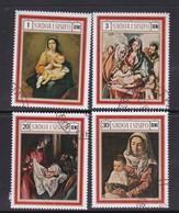 Samoa SG 332-335 1969 Christmas,used - Samoa