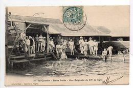 - CPA SAINT-QUENTIN (02) - Bains Froids - Une Baignade Du 87e De Ligne 1905 (belle Animation) - Edition C. Bloch N° 59 - - Saint Quentin