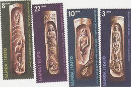 Samoa SG 365-368 1971 Legends ,mint Never Hinged - Samoa