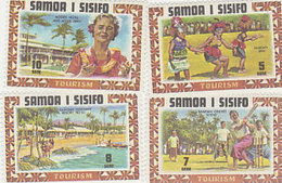 Samoa SG 365-368 1971 Tourist Publicity,mint Never Hinged - Samoa