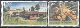 INDIA- 2018 Central Plantation Crops Research Institute- CPCRI- Coconut- Plantation Crops - Unused Stamps