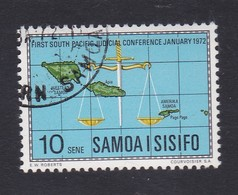 Samoa SG 377 1972 First South Pacific Judicial Conference ,used - Samoa