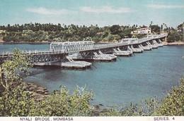CPSM 9X14 . KENYA . MOMBASA . Nyali Bridge - Kenya