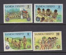 Samoa SG 405-408 1973 Scout Movementmint Never Hinged - Samoa