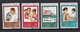 Samoa SG 413-416 1973 25th Anniversary Of W.H.O. Used - Samoa