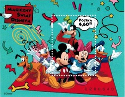 MWD-BK2013-2 MINT PF/MNH ¤ POLSKA POLAND 2013 ¤ THE WORLD OF WALT DISNEY -- FRIENDS OF WALT DISNEY - Disney