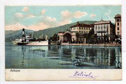 - CPA PALLANZA (Italie) - Vue Générale 1904 - - Verbania