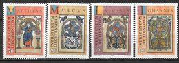 1996 Liechtenstein   Mi. 1141-4 **MNH  Weihnachten: Die Symbole Der Evangelisten - Liechtenstein