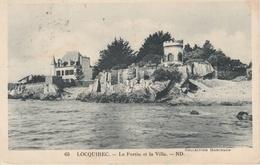 18 / 3  / 543  - LOCQUIREC  ( 29 )  - LE  FORTIN  ET  LA  VILLA - Locquirec