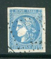 Y&T N°46B,  Losange évidé - 1870 Emissione Di Bordeaux