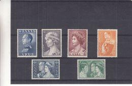 Grèce - Yvert 648 / 53 ** - MNH - Familles Royales - Valeur 107,50 Euros - Griechenland