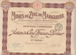 34-MINES DE ZINC DE MARGARITA. MONTPELLIER - Other