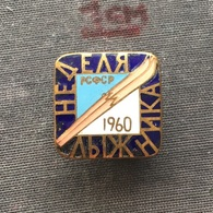 Badge (Pin) ZN006705 - Skiing Soviet Union (USSR / SSSR / CCCP) 1960 - Winter Sports