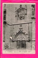 Cpa  Carte Postale Ancienne  - Cambrai Porte Du Beffroi - Cambrai