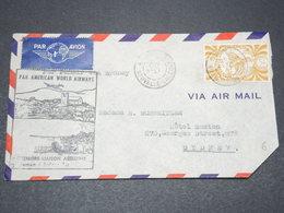 NOUVELLE CALÉDONIE - Enveloppe 1 Er Vol Nouméa / Sydney En 1947 - L 15264 - Cartas