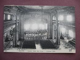 CPA 76 DIEPPE Casino Salle Des Fetes Festival Hall 1925 Intérieur Salle De Spectacles - Dieppe