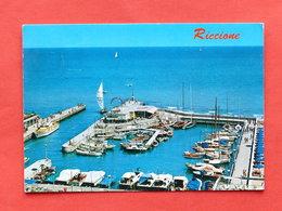 Cartolina Riccione - La Darsena - 1971 - Rimini