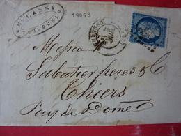 27.03.18_LAC ; Planchage 140 G3,filet Du Bas A Voi!! - Marcophilie (Lettres)