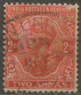 India  - 1932 King George V 2a Used   SG 236  Sc 127 - India (...-1947)