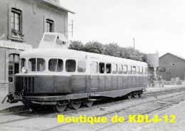 AL 500 - Autorail Michelin Type 14 En Gare - SAINT-AUBIN SUR MER - Calvados 14 - CM - Saint Aubin
