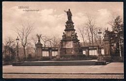 B2725 - Dessau - Kriegerdenkmal - Franz Zabel - N. Gel - Dessau