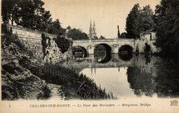 CHALONS SUR MARNE LE PONT DES MARINIERS - Châlons-sur-Marne