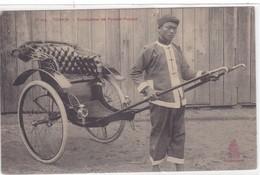 Asie - Tonkin - Conducteur De Pousse-Pousse - Viêt-Nam