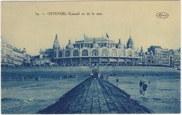 1a. -- Ostende - Kursaal Vu De La Mer.  (Marco Marcovici, Bruxelles)   - (België) - Oostende