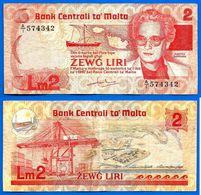 Malte 2 Liri 1986 Loi De 1967 Serie A 1 Que Prix + Port Lira Malta Skrill Paypal Bitcoin OK - Malta