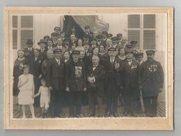 Photographie De Groupe Société D'encouragement National Des Sauveteurs Picture Foto Photo Seamen Rescue Marin - Personnes Anonymes