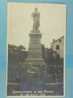 Carte Photo Salmchateau à Ses Morts 21-22-Août 1921 - Vielsalm